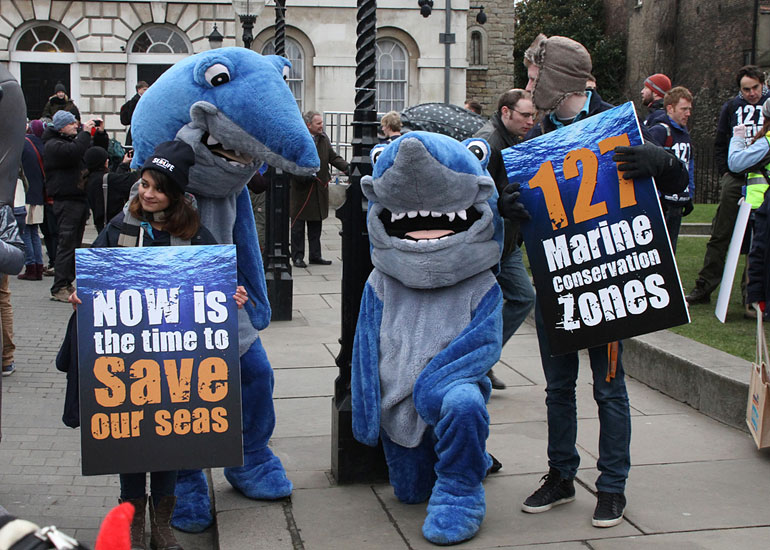 March to Save Marine Life