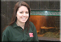 Hollie, Aquarist