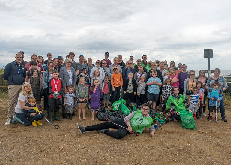 Beach clean - 17th June 2018