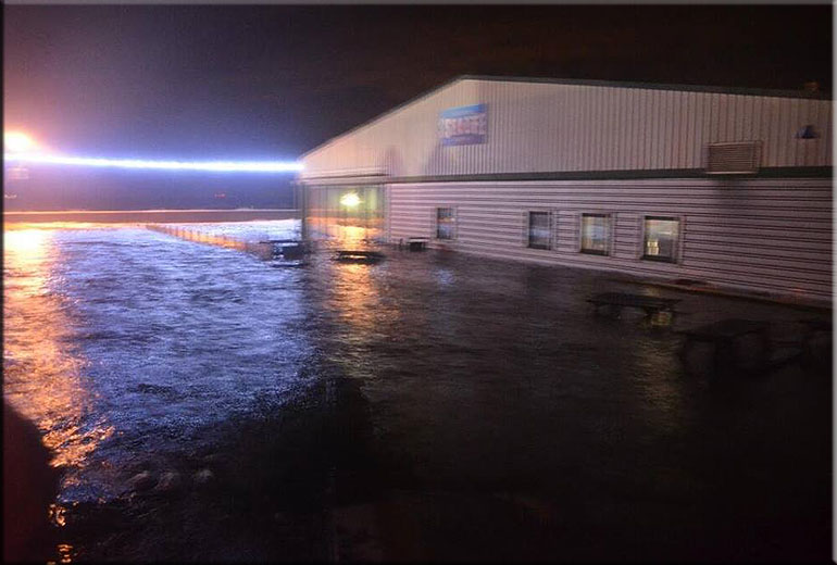 Hunstanton SEA LIFE Sanctuary submerged in sea water on 5th December ...