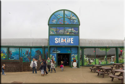 Front of Hunstanton Sea Life Sanctuary