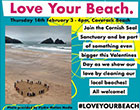 Love Your Beach - Thursday 14th February 2019