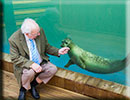 Re-built Sea Life Sanctuary opened by Michael Fish