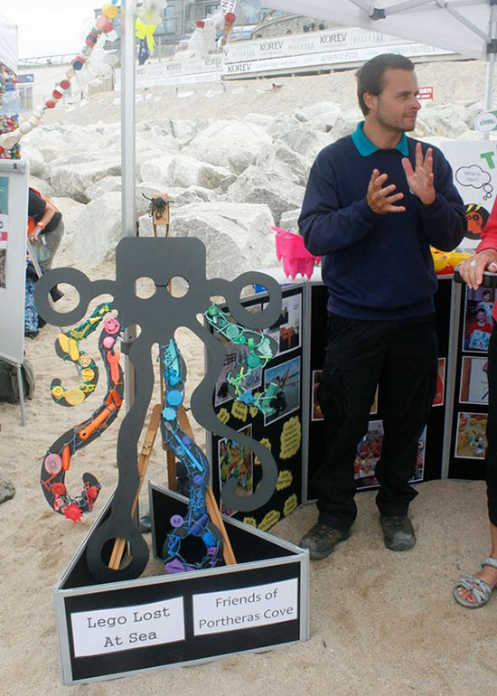 Friends of Portheras Cove stall