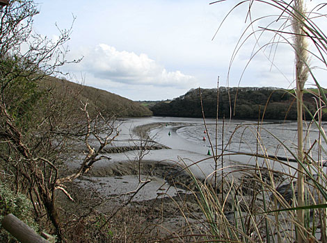 This photo of the Helford River was taken by Kenny Pask