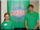 Molly Clayton sparkles at Junior SEA LIFE Conference
